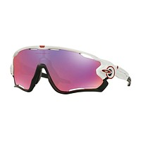 Oakley Gafas Jawbreakerpolished Whiteprizm Road
