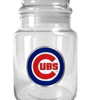 MLB Chicago Cubs 31-Ounce Glass Candy Jar - Primary Logo