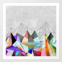 Colorflash 3 Art Print by Mareike Böhmer Graphics