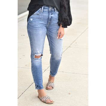 KanCan - Laci Relaxed Fit High Waist Jeans