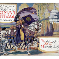Suffragette Parade, 1913 Giclee Print at Art.com