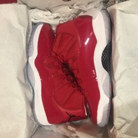 2017 Air Jordan 11 Retro XI GYM RED Authentic MENS size 10.5 Authentic DEADSTOCK