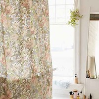 Plum & Bow Cecilia Floral Shower Curtain