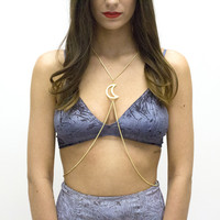 Take Me to The Moon Body Chain