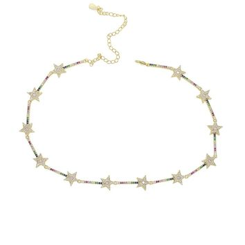 Multi star choker