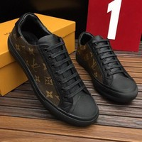Louis Vuitton Man Fashion Casual Shoes G