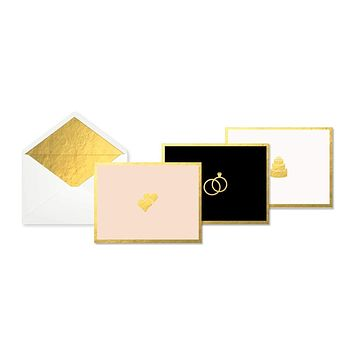 Wedding Icon Boxed Card Set
