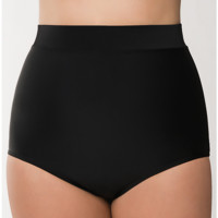 Slimming Ultra high waist swim brief in plus sizes | Lane Bryant