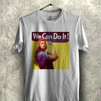 Beyonce we can do it - 1nn Tees Unisex Tees For Man And Woman / T-Shirts / Custom T-Shirts / Tee / T-Shirt