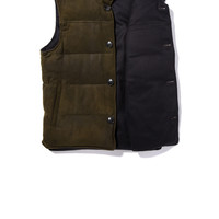 Axel's Contratino Reversible Down Vest - AXEL'S
