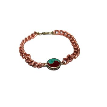 Copper Chain Bracelet