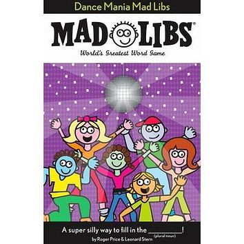 Mad Libs- Dance Mania