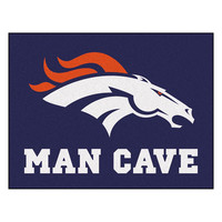Denver Broncos NFL Man Cave All-Star Floor Mat (34in x 45in)
