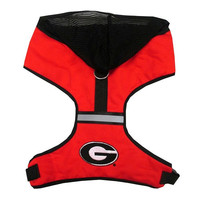 Hooded NCAA Harness — Georgia Bulldogs