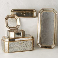 Conservatory Jewelry Keeper by Anthropologie in Silver Size: