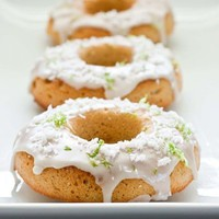 key lime donuts  the edible perspective
