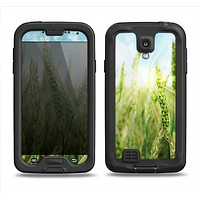 The Sunny Wheat Field Samsung Galaxy S4 LifeProof Nuud Case Skin Set