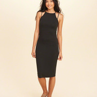 Girls Strappy High-Neck Midi Dress | Girls Dresses & Rompers | HollisterCo.com