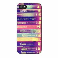 walt disney all book princess cases for iphone se 5 5s 5c 4 4s 6 6s plus