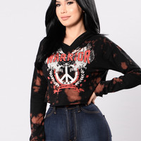American Fighter Top - Black