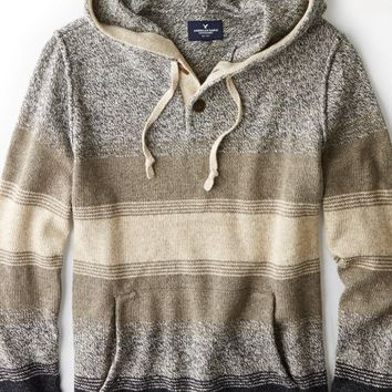 AEO 's Hooded Sweater (Natural Nude)