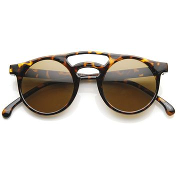 Indie Retro P3 Dapper Fashion Round Sunglasses 9117