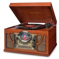 CR7008A Crosley Symphony Turntable - Plays Your iPod, Records, CD's & Radio! - Ships 4/15