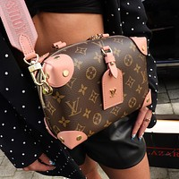 2020 women's bag LV canvas box Single Shoulder Messenger Bag