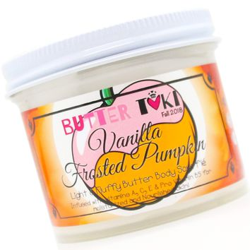 VANILLA FROSTED PUMPKIN Body Butter Soufflé 4oz - Fall Collection 2018
