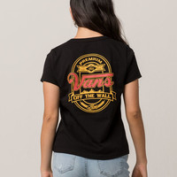 VANS Cold Filtered Womens Baby Tee