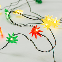 Rasta Red & Yellow String Lights