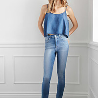 Classic High-Waisted Jeans