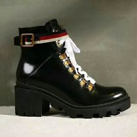 Gucci Boots For Women Shoes Waterproof Martin Boots 2 Style G-GCXGCFH-GC