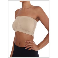 Padded Bandeau top