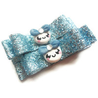 Baby Hair Clips with Polymer Clay Bubble Girls - Alligator Clip or French Barrette