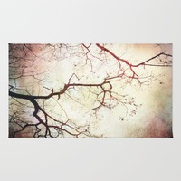 Listen To The Trees Rug by ALLY COXON