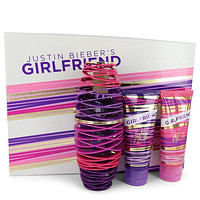 Gift Set -- 3.4 oz Eau De Parfum Spray + 3.4 oz Body Lotion + 3.4 oz Shower Gel