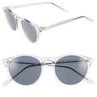 Women's A.J. Morgan 'Grad School' 49mm Round Sunglasses
