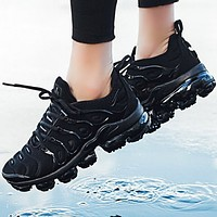 NIKE AIR VAPORMAX PLUS new cushioned running shoes F-A0-HXYDXPF Black