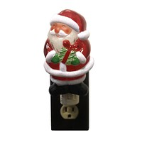 Christmas CHRISTMAS NIGHTLIGHT Acrylic Ho Ho Present Holiday 2002050 SANTA
