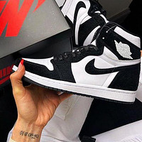 Nike Air Jordan 1 Woman Men Sneakers Sport Shoes