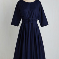 Pinup Long 3 A-line Aria of Expertise Dress