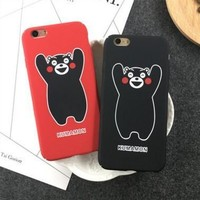 Stylish On Sale Cute Hot Deal Iphone 6/6s Apple Couple Kumamon Cartoons Phone Case [11912227411]