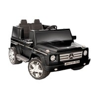 Kid Motorz Mercedes Benz G55 AMG Two Seater Battery Powered Riding Toy - Black | www.hayneedle.com