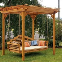 A & L Furniture Traditional English Cedar Swing Bed