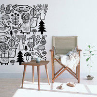 Forest animals - wall decal - wall sticker