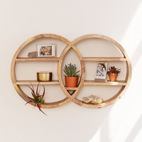 Dahlila Double Round Wall Shelf | Urban Outfitters Canada