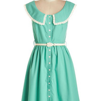 Myrtlewood Vintage Inspired Mid-length Sleeveless A-line Perfect Pastures Dress