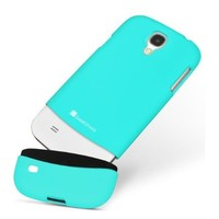 GreatShield iSlide Slim-Fit PolyCarbonate Hard Case for Samsung Galaxy S4 S IV (Coral Green)