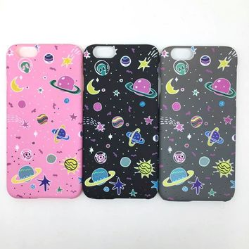 Iphone 6/6s Cute Stylish On Sale Hot Deal Iphone Korean Strong Character Apple Noctilucent Matte Phone Case [8864196295]